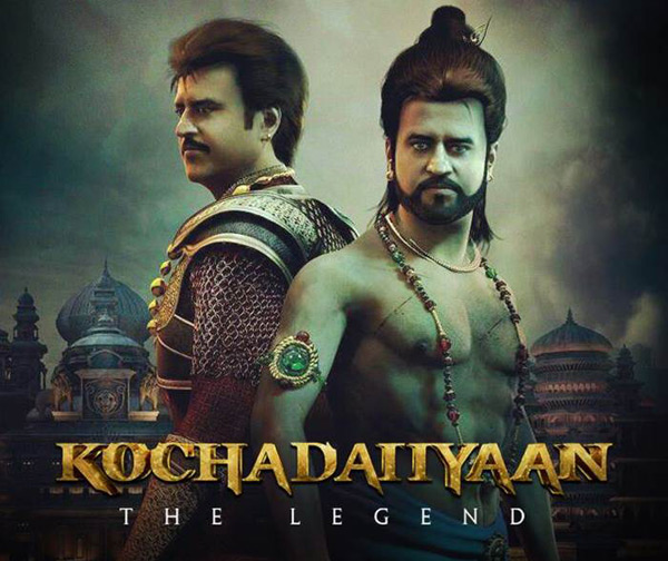Rajinikanth's Kochadaiiyaan to release on April 11