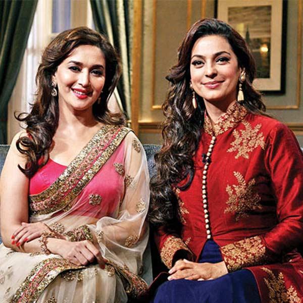 Madhuri Dixit Nene or Juhi Chawla: Who looked more stylish on Koffee with Karan?
