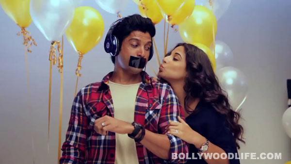Shaadi Ke Side Effects behind the scenes: Vidya Balan reveals the side effects of Farhan Akhtar!