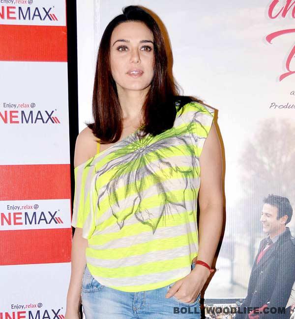 Preity Zinta finally accepts that she was arrogant!
