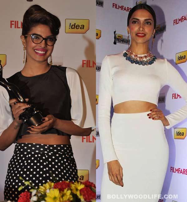 Priyanka Chopra or Deepika Padukone - who looked hotter in a cropped top?