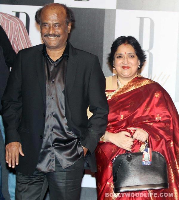 Rajinikanth and Latha, happy anniversary!