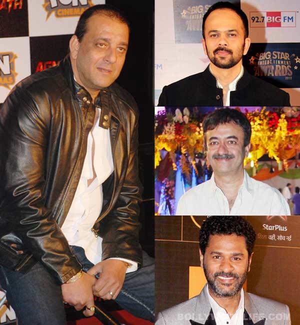 Rohit Shetty, Prabhu Dheva, Rajkumar Hirani to work for Sanjay Dutt!