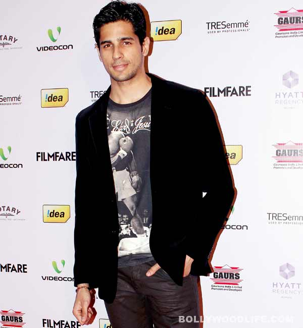 Sidharth Malhotra: Madhuri Dixit  is someone you would like to take to your bedroom