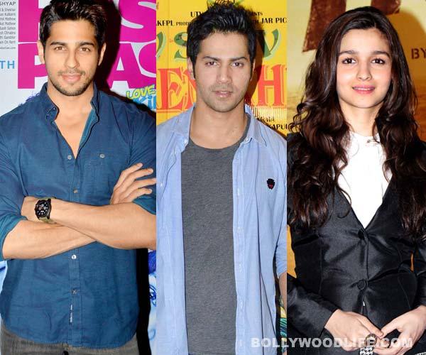 Alia Bhatt, Sidharth Malhotra or Varun Dhawan: Who is Karan Johar's most stylish student?