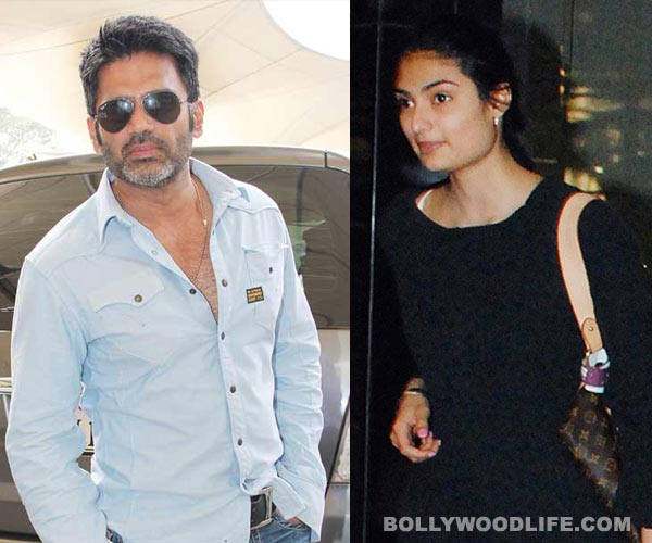Suniel Shetty: Athiya was confident, I was terrified!