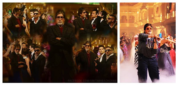 Who was Amitabh Bachchan partying all night with?