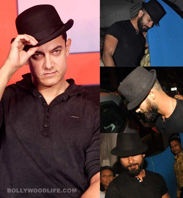 Is Shahid Kapoor aping Aamir Khan?