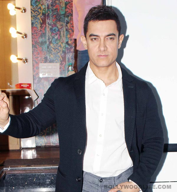 Why does Aamir Khan want to spend time with female journalists?