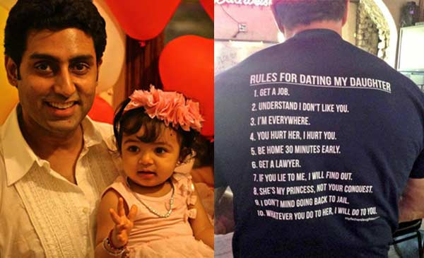 What are the qualities Abhishek Bachchan is looking for in Aaradhya Bachchan's future boyfriend?