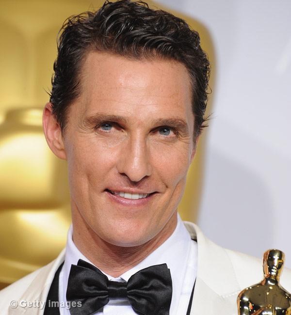 Oscar winners list 2014: Matthew McConaughey wins best actor award for Dallas Buyers Club!