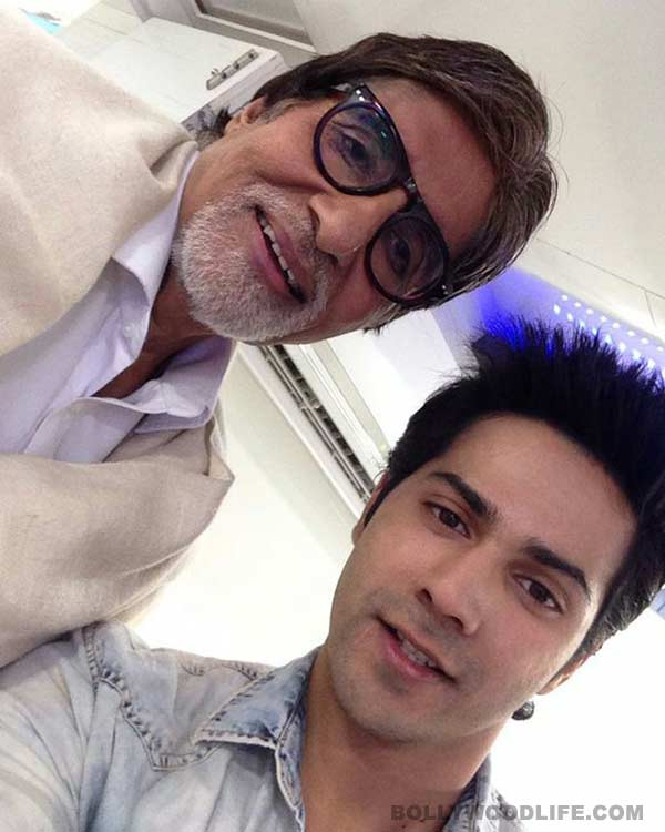 Why are Varun Dhawan and Amitabh Bachchan together in Boogie Woogie?