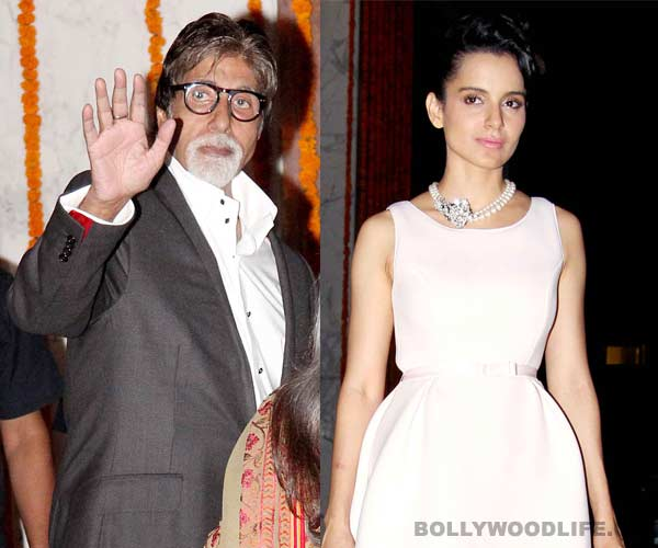 Amitabh Bachchan all praises for Kangana Ranaut