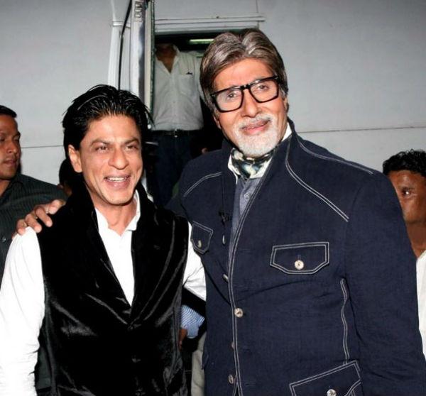 Why did Amitabh Bachchan thank Shahrukh Khan?