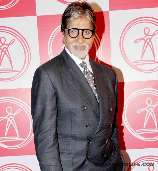 Amitabh Bachchan stands tall for a cause