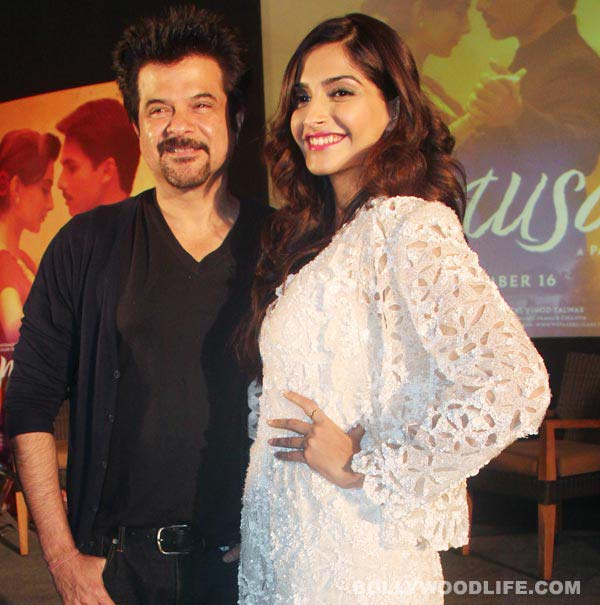 Was Sonam Kapoor trained by Anil Kapoor to follow the 'just friends' policy?