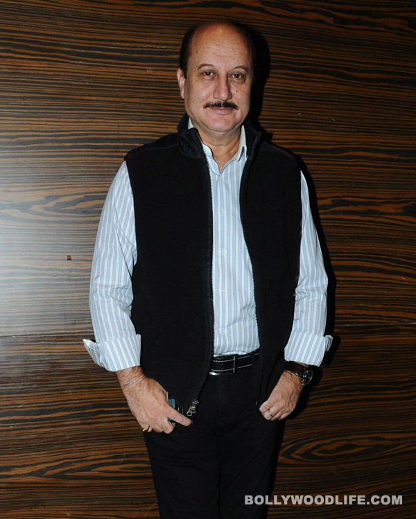 What does Anupam Kher like more than acting?