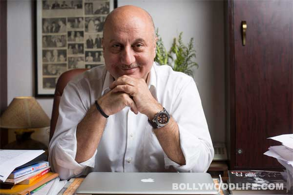 Does Anupam Kher act for the critics or the audience?