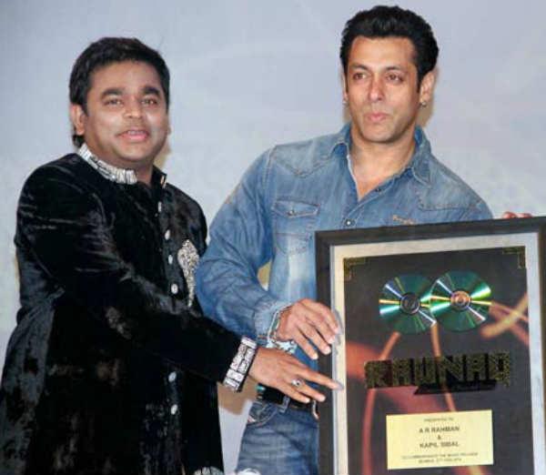 Salman Khan wants 'average' music composer AR Rahman to work with him!