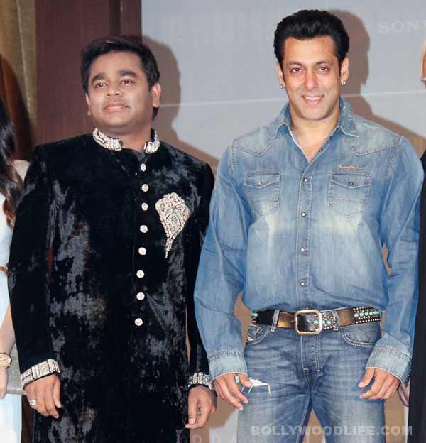 Has AR Rahman replaced Shahrukh Khan as Salman Khan's arch rival?