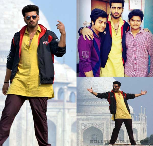 Is Arjun Kapoor doing a Shahrukh Khan in Tevar? View pics!