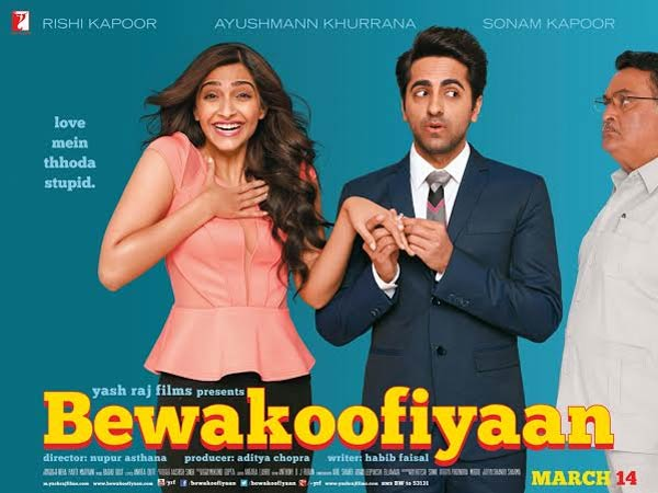Bewakoofiyaan movie review: Ayushmann Khurrana, Sonam Kapoor and Rishi Kapoor make a cute threesome!