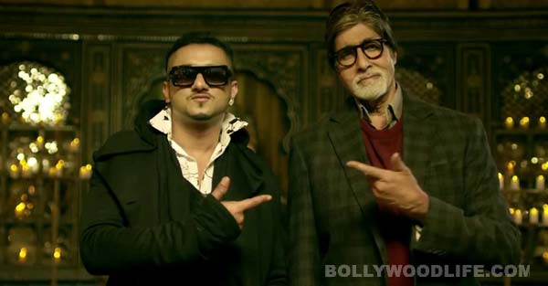Amitabh Bachchan and Yo Yo Honey Singh's Party with the Bhoothnath song is no Lungi dance