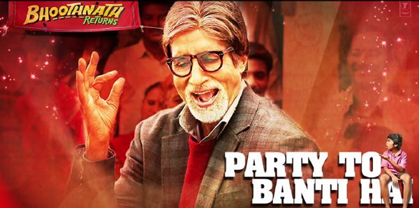 Bhoothnath Returns song Party toh banti hai: No one parties better than Amitabh Bachchan