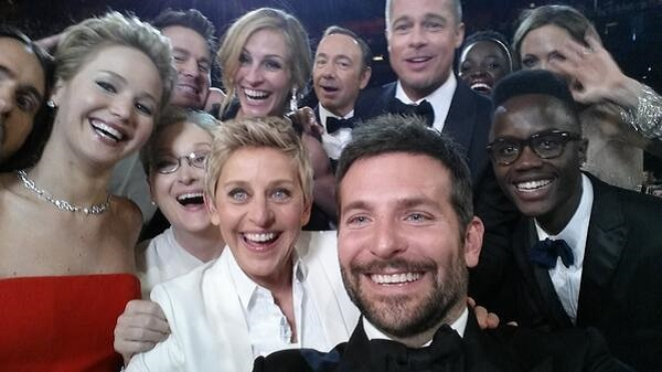 Oscars 2014: Ellen DeGeneres selfie receives over 2 million hits in just half an hour!