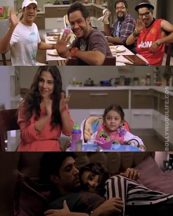 Shaadi Ke Side Effects deleted scenes: Farhan Akhtar is fed up of Vidya Balan's motherhood!