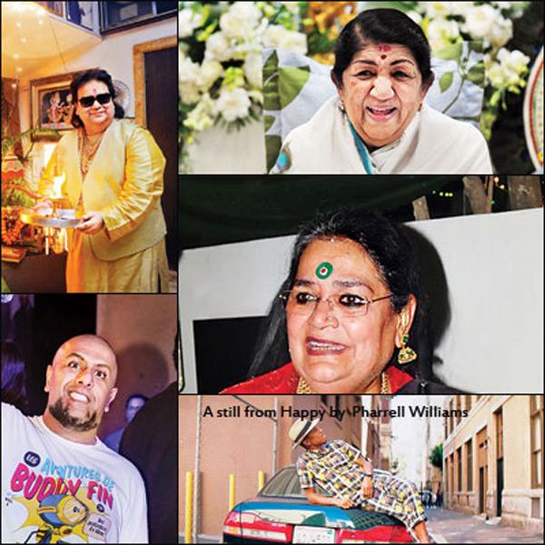 Which songs do Lata Mangeshkar, Shankar Mahadevan and Bappi Lahiri love the most?