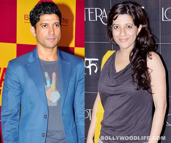 What does Farhan Akhtar think about Zoya Akhtar as a director?