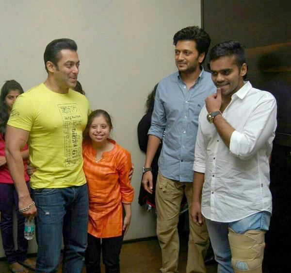 Salman Khan plans to make Riteish Deshmukh's Marathi production Yellow in Hindi