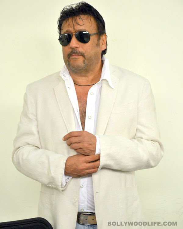 Why is Jackie Shroff overwhelmed?