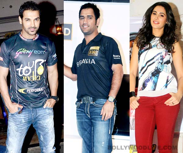 John Abraham, Nargis Fakhri and MS Dhoni to star in a commercial together!