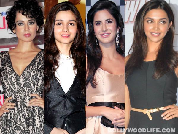Kangana Ranaut, Alia Bhatt, Katrina Kaif, Deepika Padukone - Meet B-town's bindaas babes!