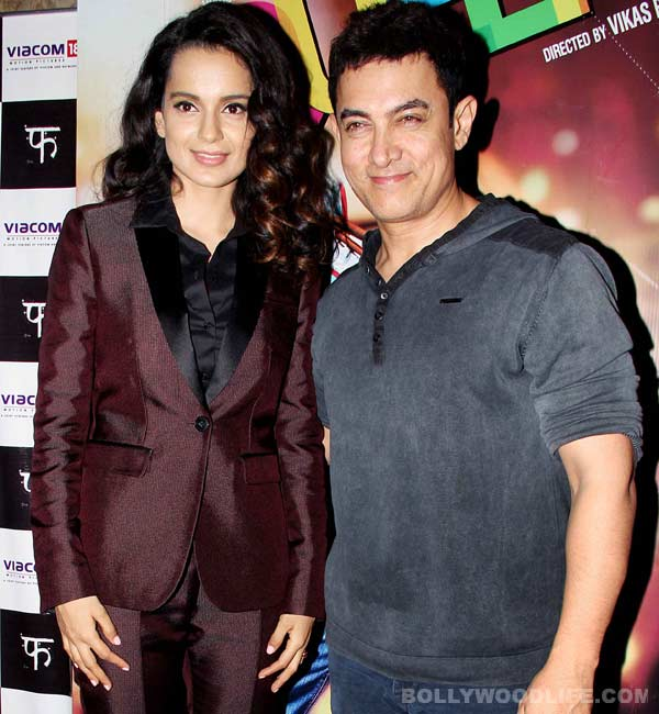 Aamir Khan: Kangana Ranaut rocks!