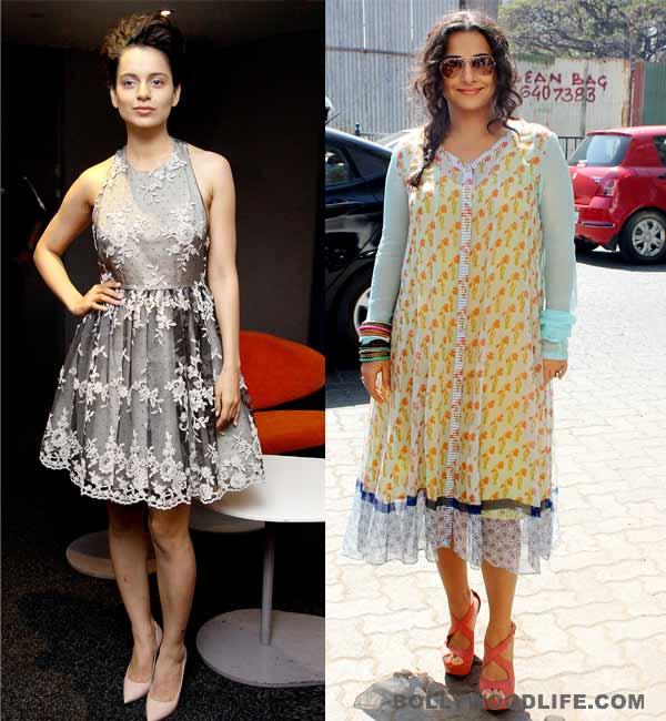 Kangana Ranaut to step into Vidya Balan's shoes!