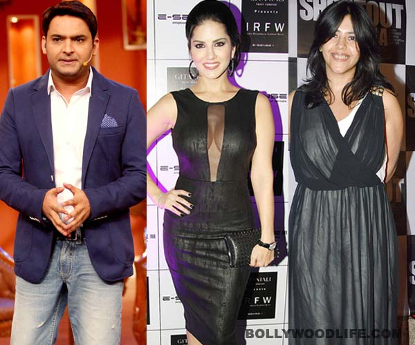 Did Kapil Sharma agree to have Sunny Leone on Comedy Nights with Kapil because of Ekta Kapoor?