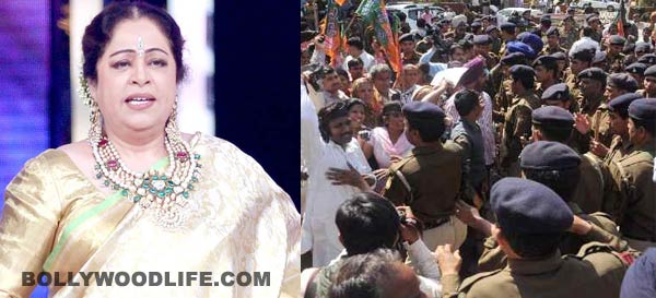 Kirron Kher termed as an outsider in Chandigarh, welcomed with eggs and black flags