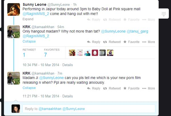 Should Kamaal R Khan be arrested for harassing Sunny Leone and Alia Bhatt?