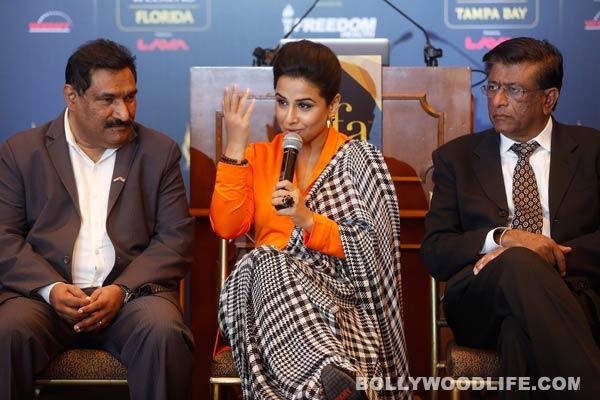 Vidya Balan joins IIFA promotional entourage in US!