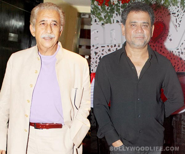 How did Anees Bazmee convince Naseeruddin Shah for Welcome Back?