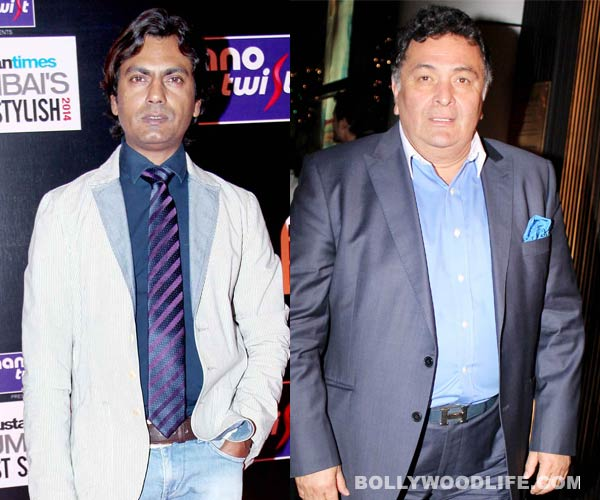 Who sparked the war of words between Rishi Kapoor and Nawazuddin Siddiqui?
