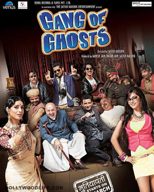 Gang Of Ghosts quick review: Even Anupam Kher and Sharman Joshi can't save this movie!