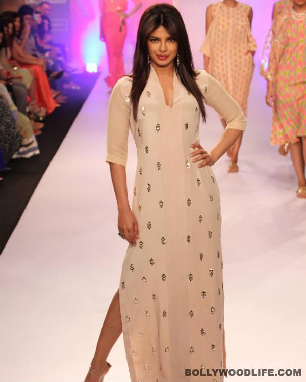 Priyanka Chopra: Walking on the ramp scares me - View pics!