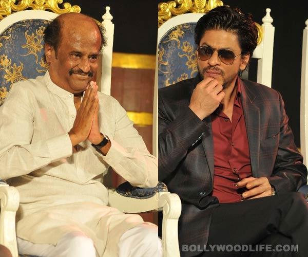 When Rajinikanth overshadowed Bollywood superstar Shahrukh Khan's presence...