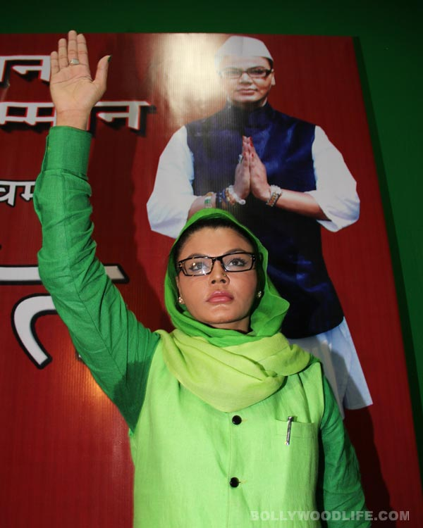 Rakhi Sawant to visit Shirdi before taking on Mahesh Manjrekar in Lok Sabha elections 2014