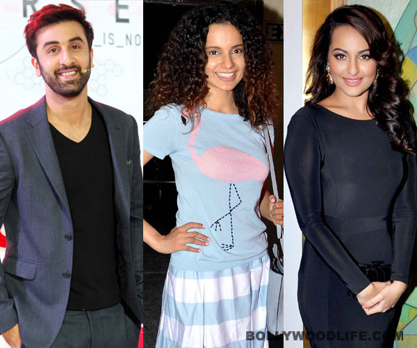 What does Kangana Ranaut have that Ranbir Kapoor and Sonakshi Sinha don't?