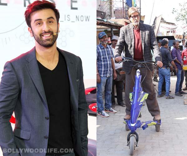 After Ranbir Kapoor, take a look at Amitabh Bachchan's cool ride!